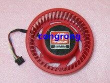 NTK FD9238H12S 75mm Grafik/Video Karte Kühler Fan 37mm 12 V 0.8A 4 Draht für ATI HD4870 HD4890 HD5850 HD6850 HD6970