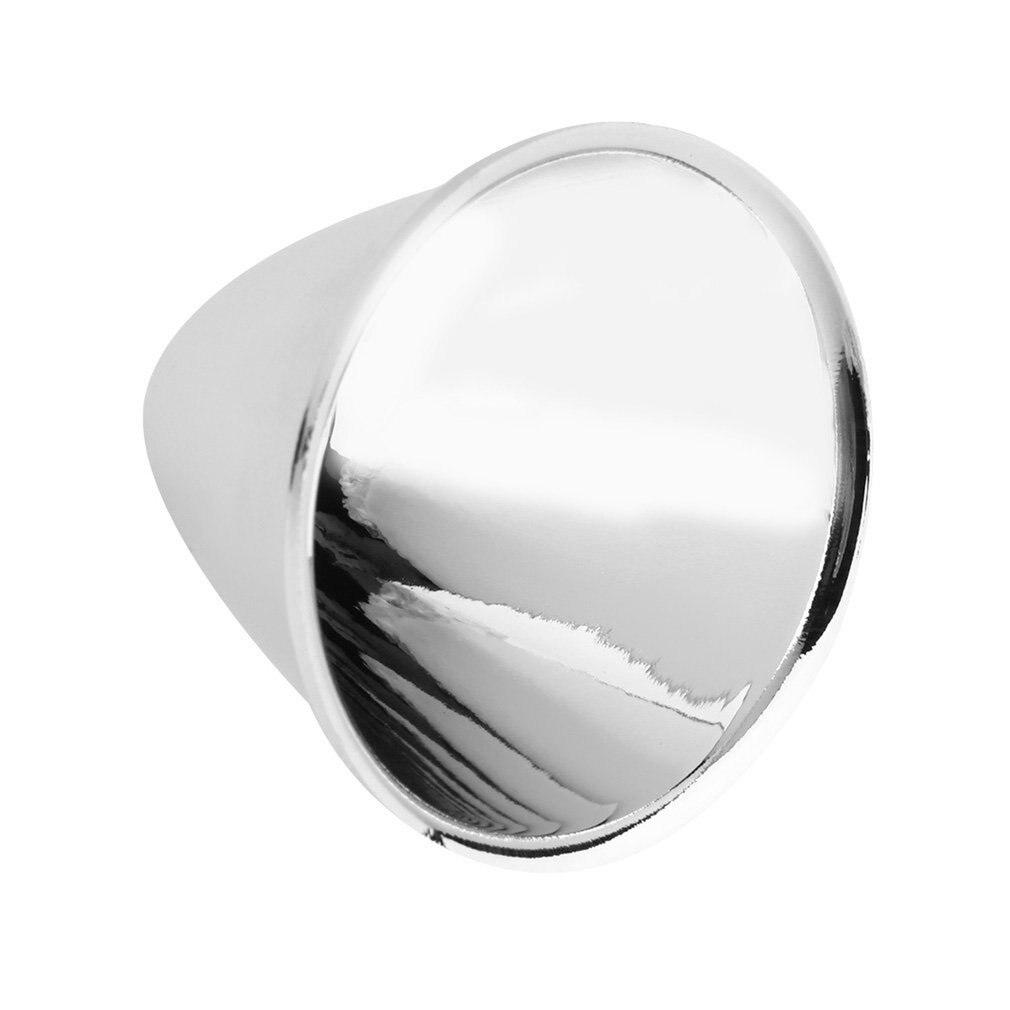 1 reemplazo para PC Reflector de aluminio taza para C8 linterna xm-l DIY BDF99