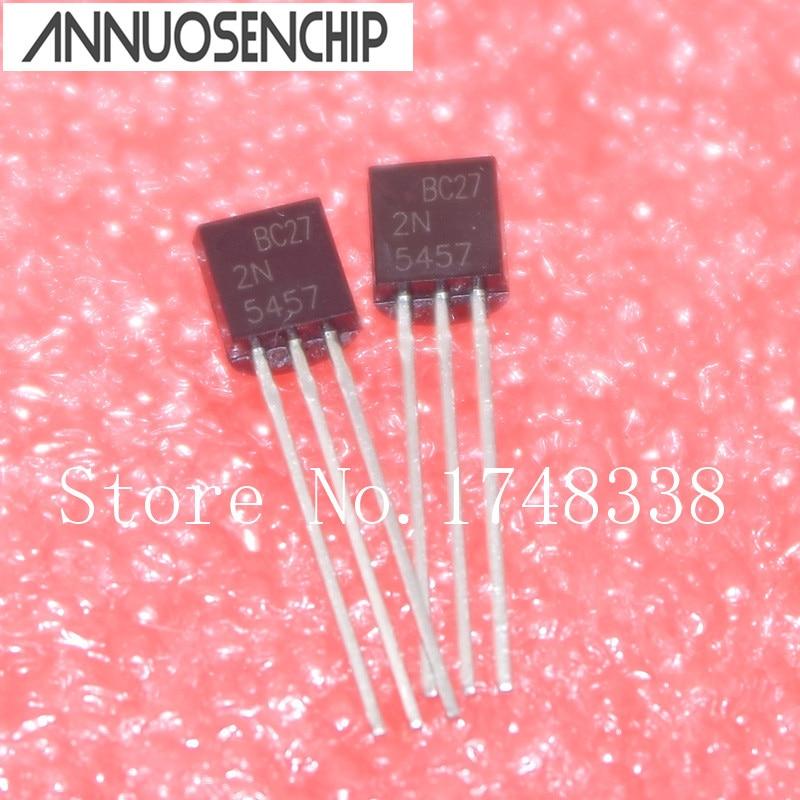 10 pces 2n5457 2n5457 to-92 n-channel transistor