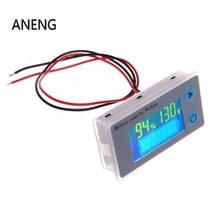 ANENG 10-100V batterie universelle capacité voltmètre testeur LCD voiture indicateur plomb-acide