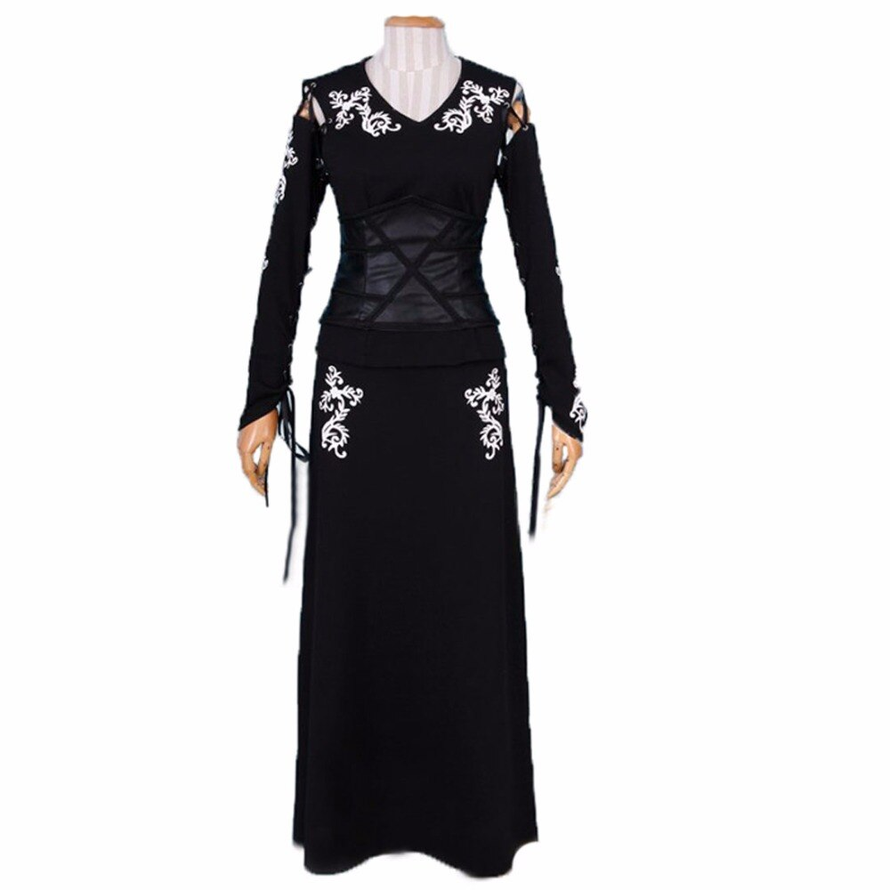 2018 Bellatrix LeStrange disfraz de cosplay negro