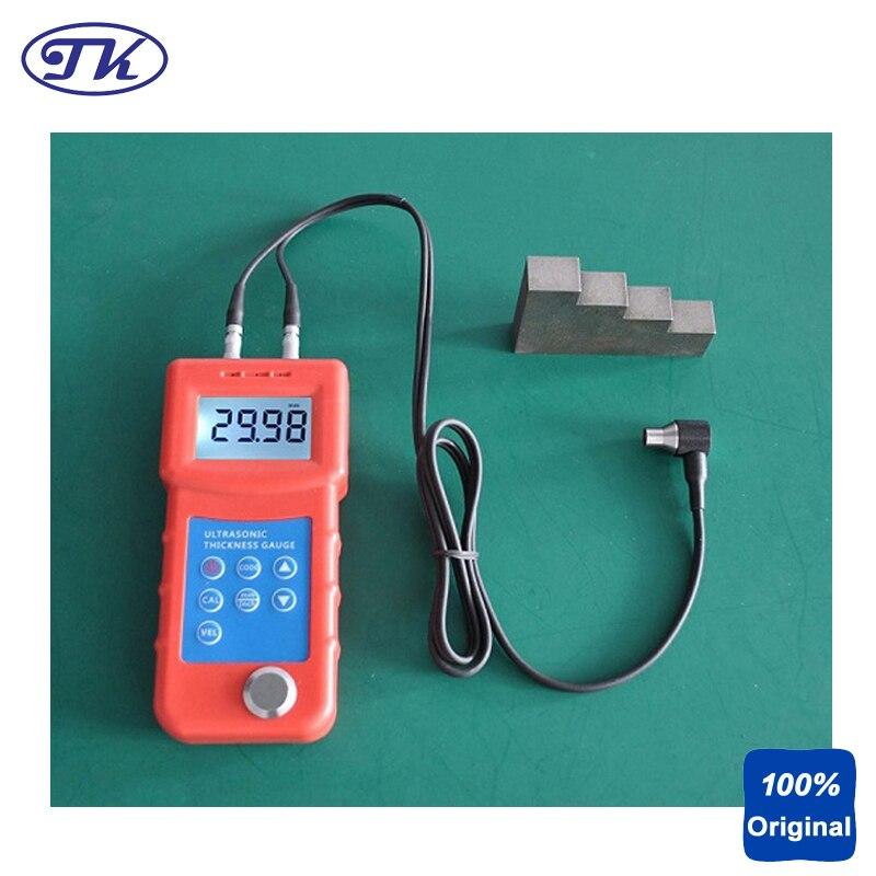 Medidor de espesores portátil UM6800 por ultrasonido medidor de espesor de Metal medidor de espesor Digital mide 1-280mm 0,01mm