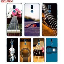Мягкий силиконовый чехол для телефона для бас-гитары музыка Guitares для LG K50 K40 Q8 Q7 Q6 V50 V40 V35 V30 V20 G8 G7 G6 G5 ThinQ мини
