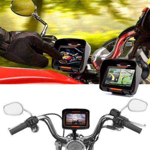 Водонепроницаемая система GPS навигации для мотоцикла с сенсорным экраном 4 3