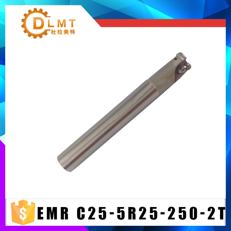 Fresadora de EMR 5R C25 25 250L 2 T de la máquina herramienta CNC cuchillo para RPMW1003 final Arbor Molino de herramientas de corte