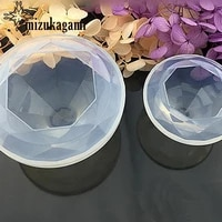 1pcs uv resin transparent silicone mould dried flower resin decorative craft for diy mold type epoxy resin molds