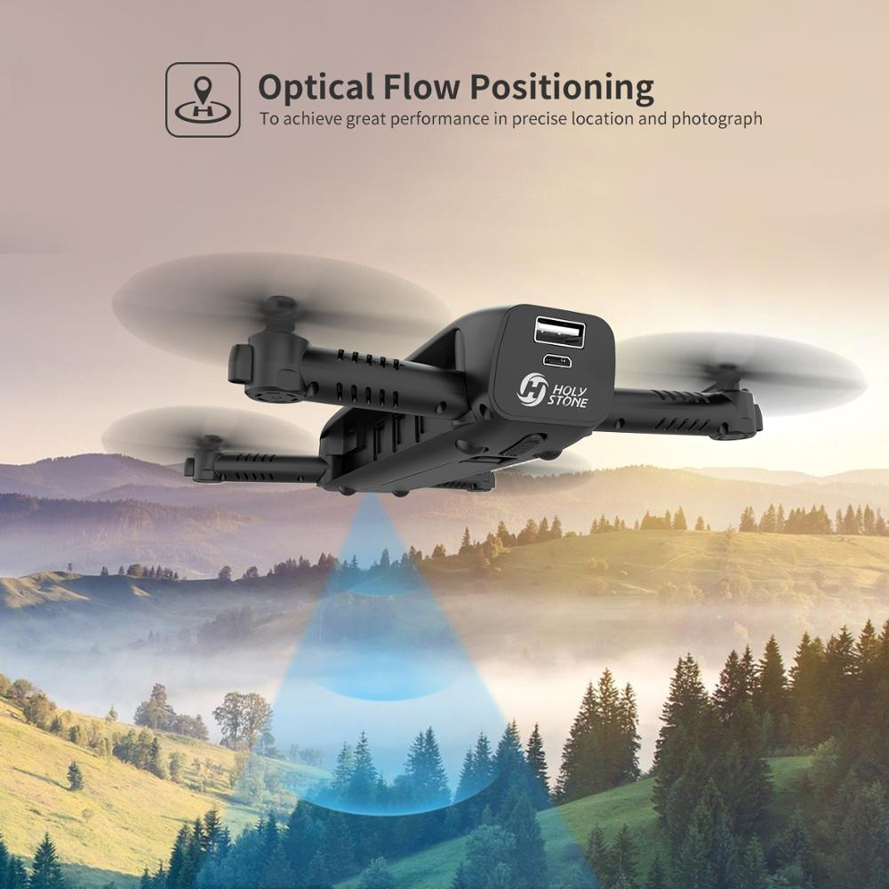 Holy Stone HS161 FPV Drone with Camera 1080P HD Selfie Drone Foldable Drones Optical Flow Positioning Flashlight RC Quadcopter enlarge