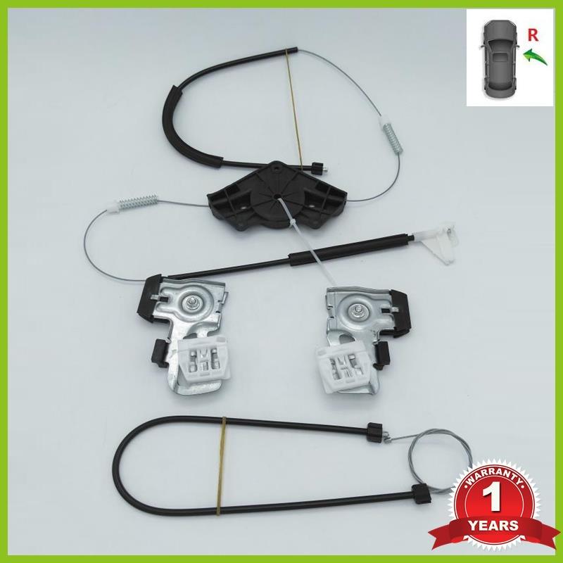 Для Skoda Octavia A4 MK1 1997 1998 1999 2000 2001 2003 2004 2005 2006-2011 оконный регулятор, Ремонтный комплект с передней и правой стороны