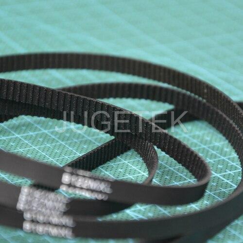 Free shipping 10pcs/lot B126MXL 6mm width Closed-loop MXL Timing Belt