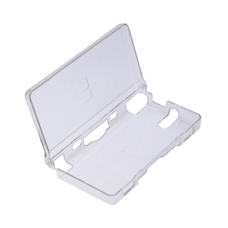 Hot Rígido Crystal Case Limpar A Tampa Da Pele Shell Para Nintendo NDS Lite NDSL DSL