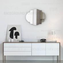 Cadre moderne décoratif 3D M003   Autocollants muraux épais de 3mm pour décoration de salon style européen, décoration de maison