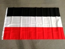 johnin  90x150cm black white red merchant North German Confederation flag