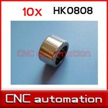 10 sztuk HK0808 8x12x8 TLA808Z miniaturowe łożyska igiełkowe 8mm/12mm/8mm RHNA081208 dla 8mm wał