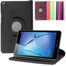 Tablet Fall Für Huawei Media Pad T3 8,0 360 Rotierenden Flip PU Cover Ständer Smart Fall Tablet PC Schutzhülle für huawei T3 8 zoll