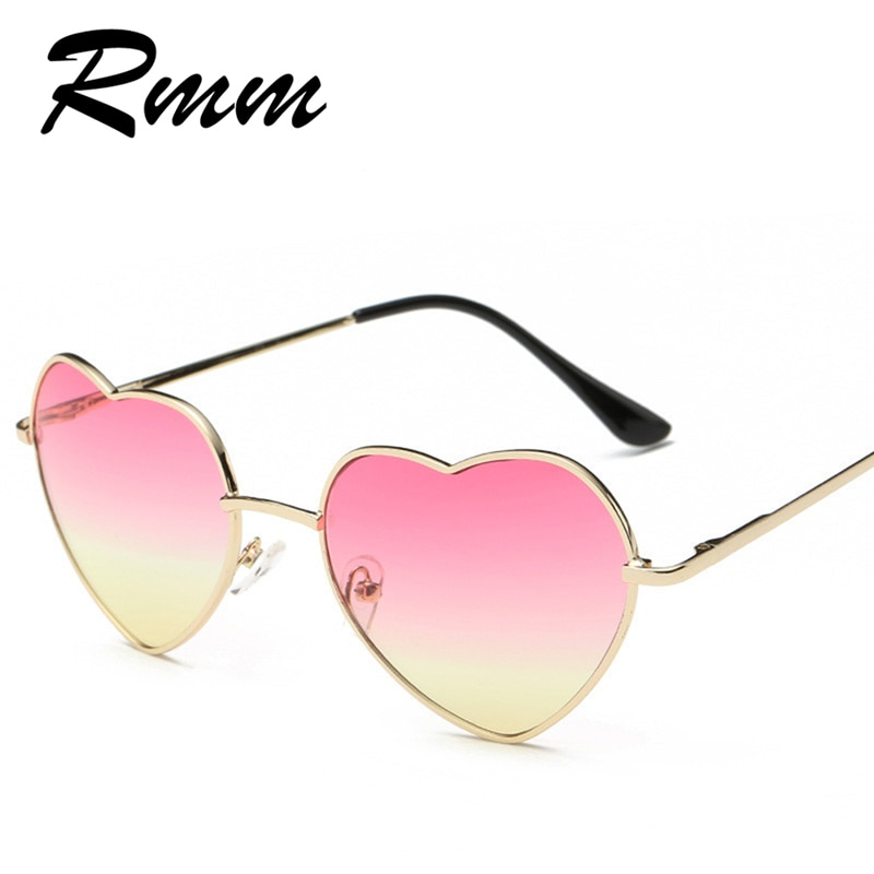 2020 RMM brand heart-shaped women sunglasses authentic Gradient sunglasses avant-garde unisex sungla