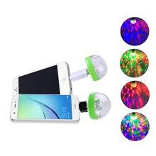Vacamm luz novedad Mini USB luces de discoteca RGB DC5V etapa fiesta de año nuevo de Navidad Bar decoración discoteca lámpara colorida
