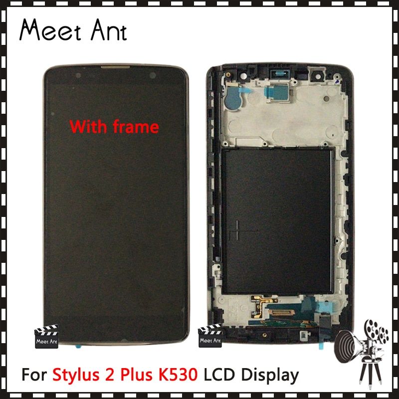 DHL 10 piezas de alta calidad 5,7 para LG Stylus 2 Plus K530 K530F pantalla LCD con pantalla táctil digitalizador de montaje
