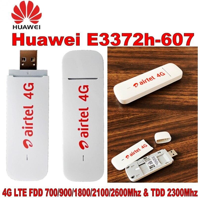Lot of 100pcs Unlocked Huawei E3372 E3372h-607 4G LTE 150Mbps USB Modem USB Dongle