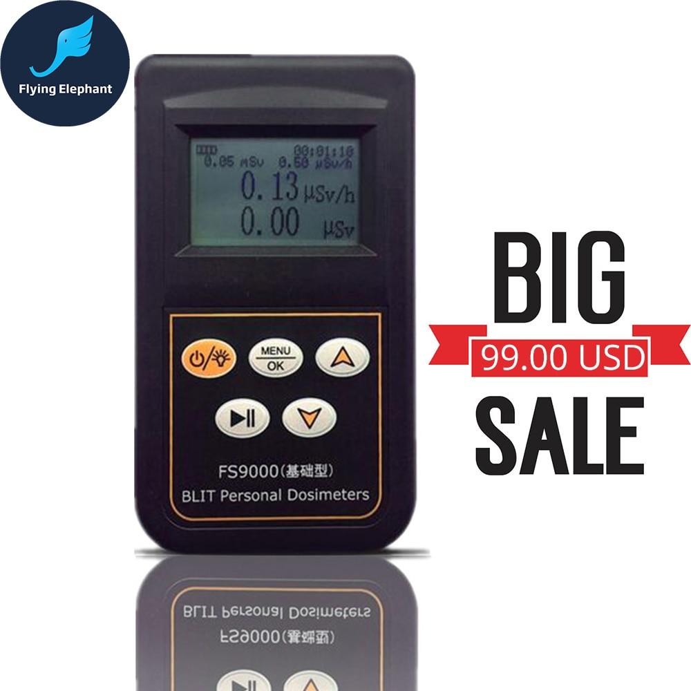 جهاز اختبار إشعاع طراز FS9000 بالإنجليزية واليابانية