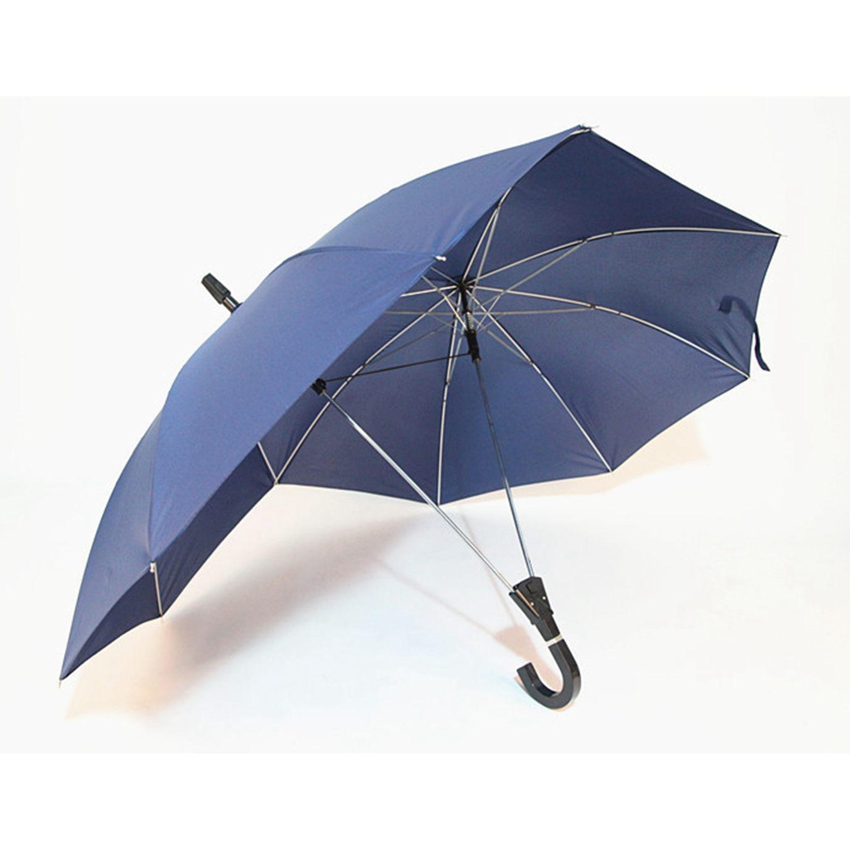 Paraguas creativo de moda para parejas de dos polos, color puro, paraguas de negocios semiautomático de gama alta, paraguas unido de doble tapa