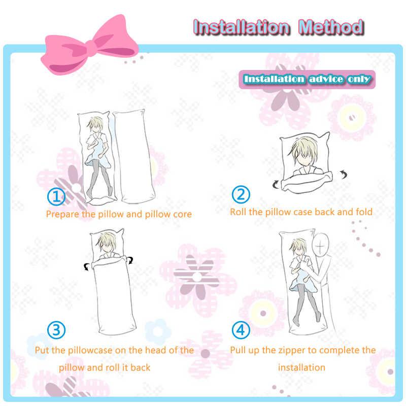 Japan Anime Schwert Kunst Online Männlichen Charaktere Kirito Umarmt Körper Pfirsich Haut Kissen Fall Pillow Case Aliexpress