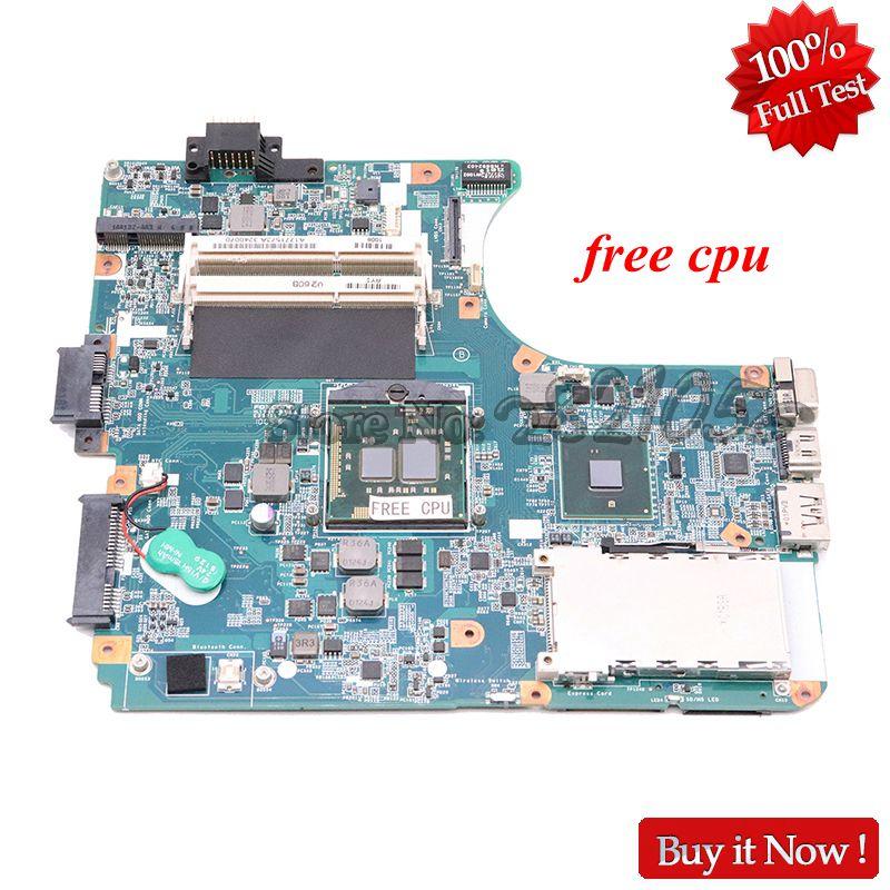 Nokotion a1771573a para sony vaio vpceb placa mãe do portátil MBX-223 m960 placa principal 1p-009cj01-6011 hm55 uma ddr3 cpu livre