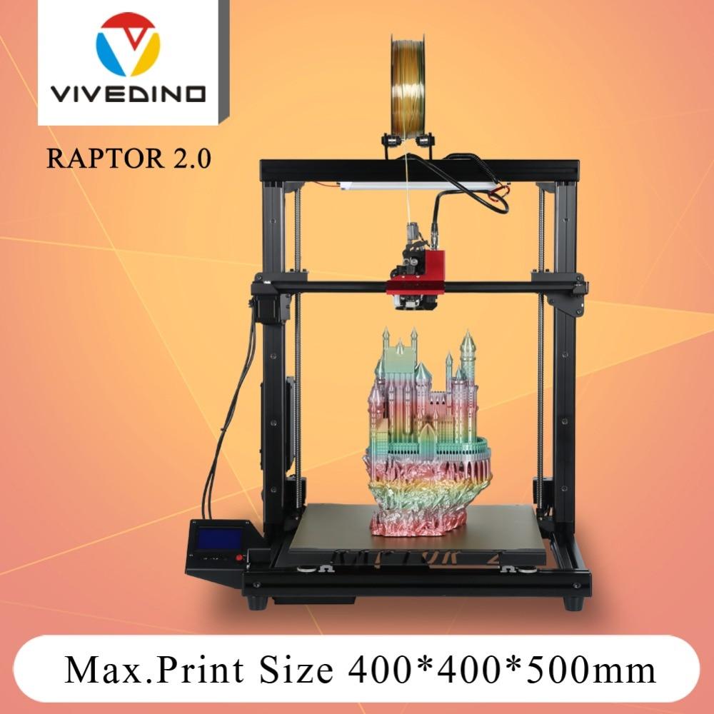 Loveedino Raptor 2-طابعة ثلاثية الأبعاد ، جودة عالية ، آلة بثق واحدة ، حجم طباعة كبير ، Diy ، سعر معقول