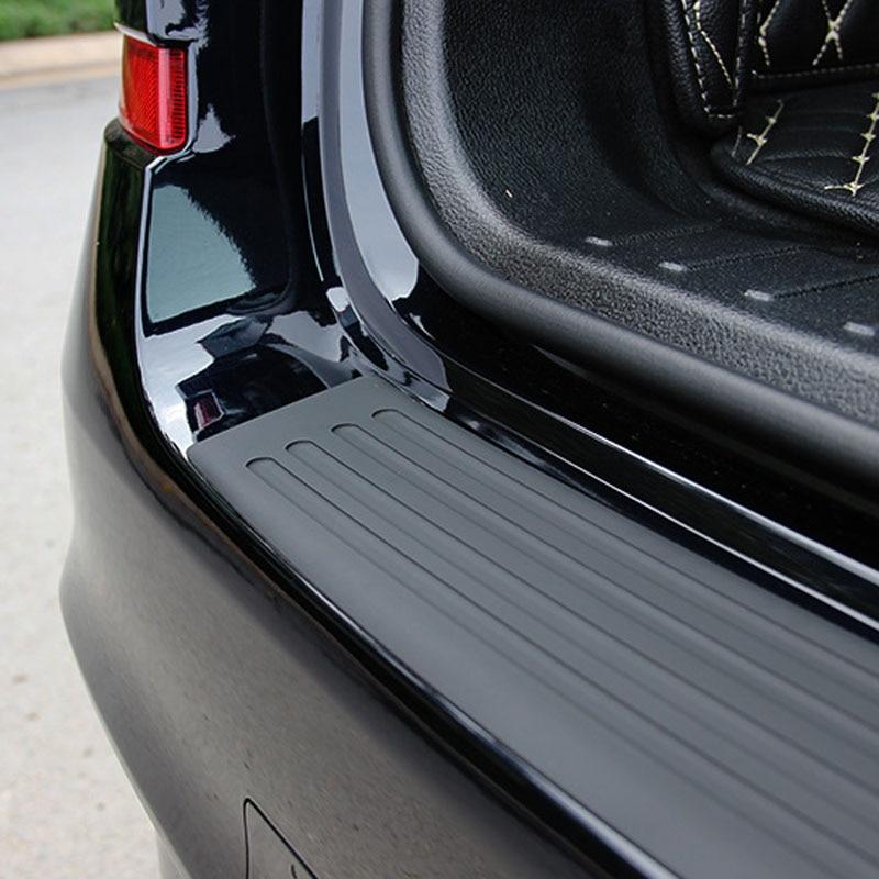 Universal Car Rear Bumper Sill/Protector Plate Rubber Cover Guard Trim Pad for Subaru Forester Outback Legacy Impreza XV BRZ
