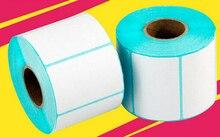 Jp-4030 Thermisch Label Papier Barcode Papier Zelfklevend Papier Thermische Sticker Papier 40*30 Mm 800 Pcs/Roll, 2 Rolls/Lot