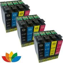 12 Compatible 133XL ink cartridge for EPSON T133 133 N11 NX125 NX130 NX420 NX430 Printer