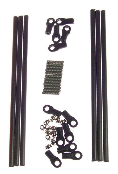 6 uds. * 3D barras de impresora brazos fuerte pared hace 500mm Rod Kit