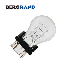 10PCS P27/7W 3157 12V 27/7W Halogen Lamp Clear Glass Stop Light Turn Signal Lamps W2.5*16q Wedge Base Miniature Bulb