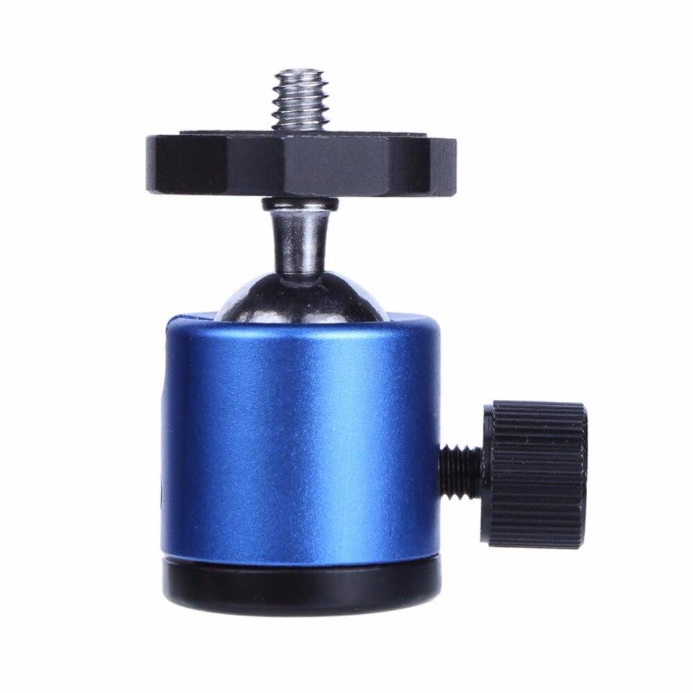 "1/4 ""schraube Ball Kopf Montieren Stativ Kopf Metall Stativ Pan Tilt Schraube Adapter Für Kamera Stativ Flash DSLR Camcorder"