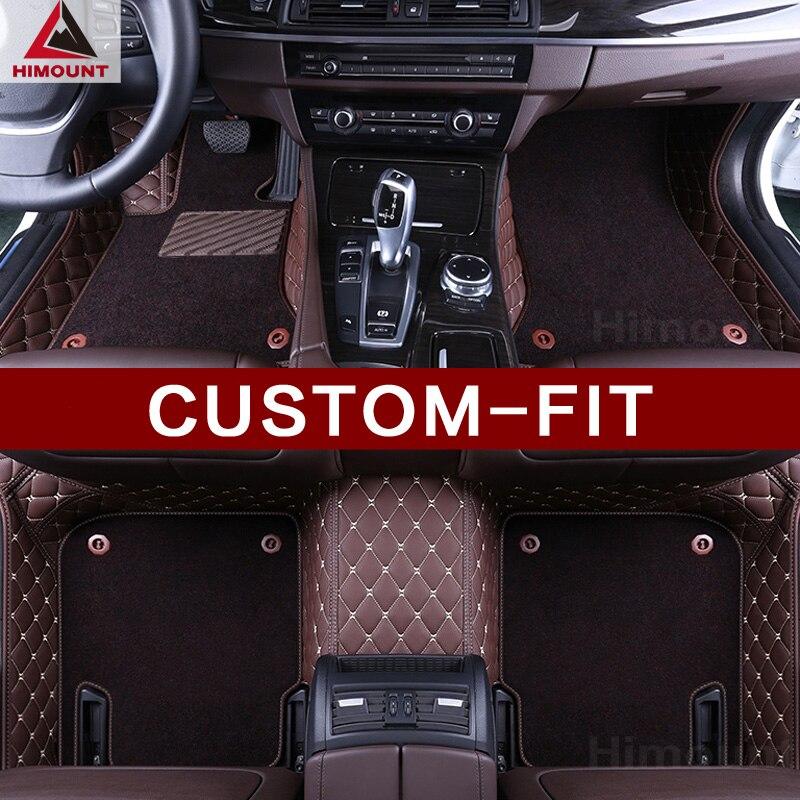 Custom fit car floor mats for Audi A4 S4 RS4 B6 B7 B8 B9 sedan allraod Avant all weather car styling carpets rugs floor liners
