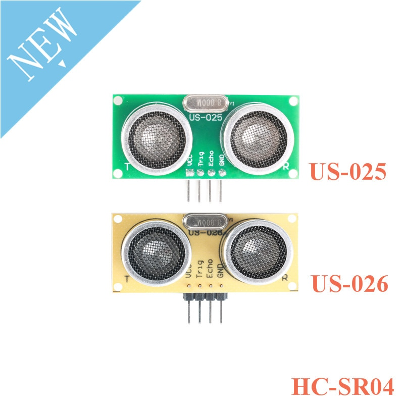 US-025 US-026 Detector de módulo ultrasónico Sensor de distancia del módulo del Sensor 3-5,5 V en lugar de HC-SR04 US025 US026 para Arduino