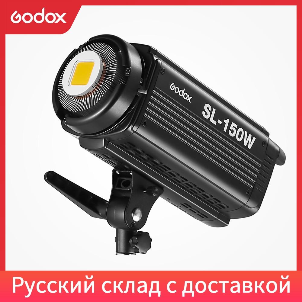 Godox SL-150W 150WS 5600K белая версия ЖК-панель светодиодный видео свет непрерывный выход студийный свет Бесплатная доставка DHL