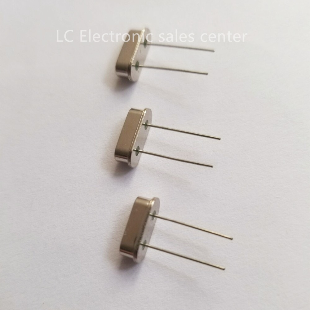 10 stücke In-linie passive 2 füße HC-49S 49S 2PIN DIP-2 9,8304 MHZ resonator