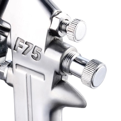 F75 paint spray gun spray gun pot pneumatic tools home car sprayer high atomization paint spray gun enlarge