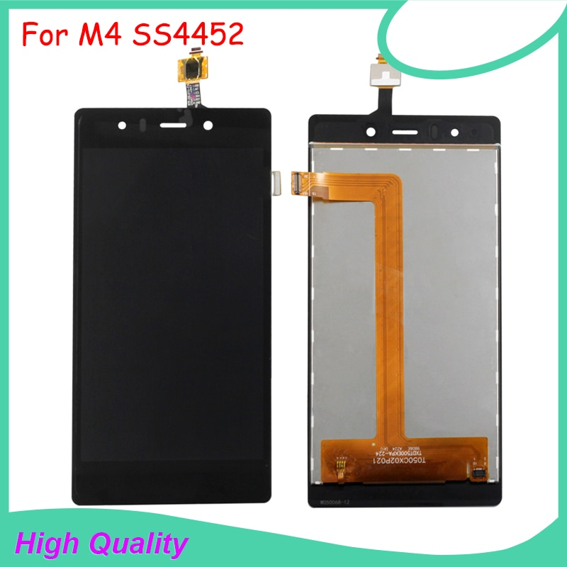 LCD Display Touch Screen For M4 SS4452 4452 TXDT500EKPA-224 Black Color Mobile Phone LCDs Free Shipp