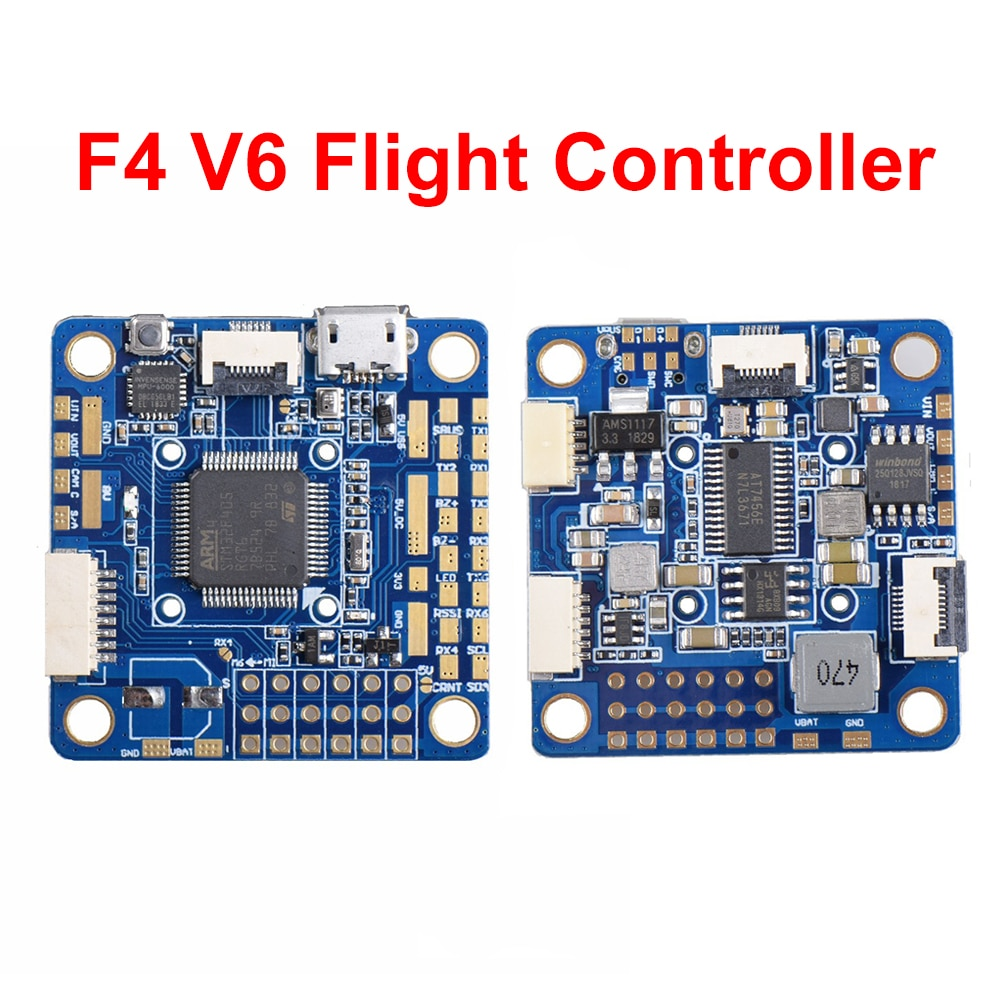 Контроллер полета OSD STM32 F405 5x UARTs 30,5x30,5 мм для радиоуправляемого квадрокоптера ZMR250 Martian II 220 мм, новый F4 V6
