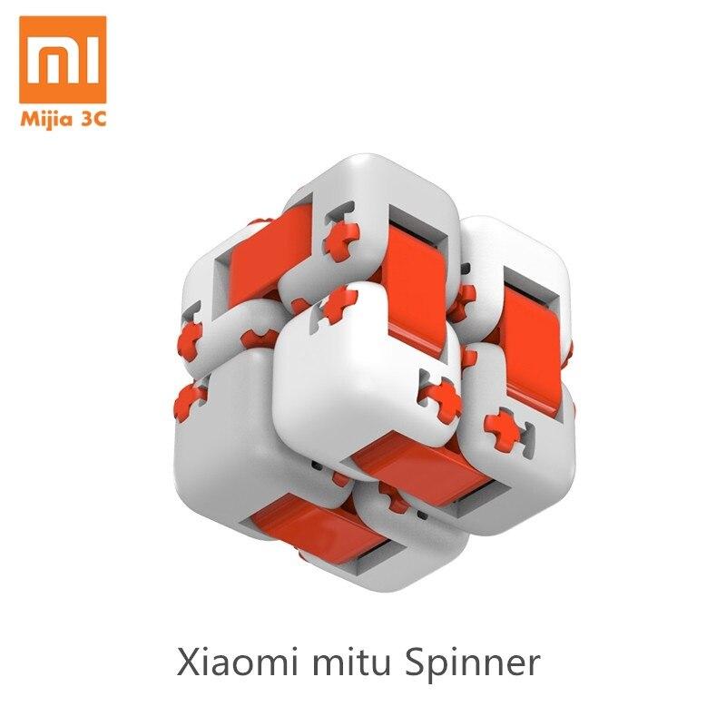Original Xiaomi Mitu Cube Spinner Finger Bricks Mini Intelligence Toys Smart Finger Toys Portable Xi