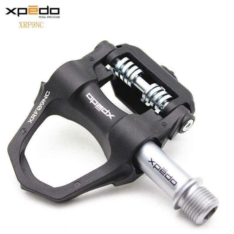 Wellgo Xpedo XRF09NC Road Bike Pedal Ultralight Self-locking Clipless Ball Bearing Biclyce Pedals Free shipping