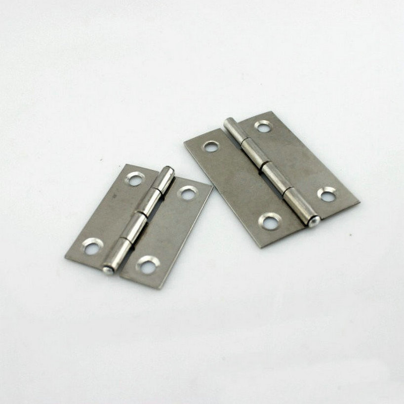 HQ Складной Тип 10 пар/лот дверные жесткие изделия из нержавеющей стали 55 мм длина дверные петли