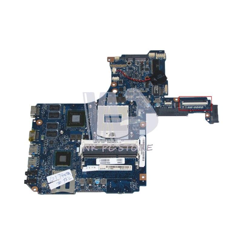 NOKOTION H000067900 Tablero Principal para Toshiba Satellite P50T P50T-A L50 L55, placa base para ordenador portátil DDR3L HM86 GT740M, tarjeta de vídeo