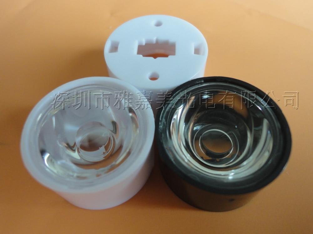 Основа для ленты светодиодная линза CREE диаметром 21 5 мм гладкая поверхность 20 45 90