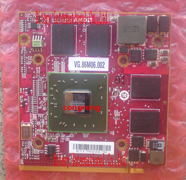 Para Acer Aspire 5710G 5920G 6530G 6920G PC para ATI Mobility Radeon HD 3650 HD3650 HD3470 DDR3 256MB MXM II tarjeta de gráficos de Video