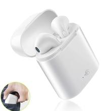 I7s TWS auriculares inalámbricos Bluetooth 5,0, auriculares, Mini auriculares estéreo, música para iPhone 7 8 plus, Samsung Xiaomi mi pocofone f1