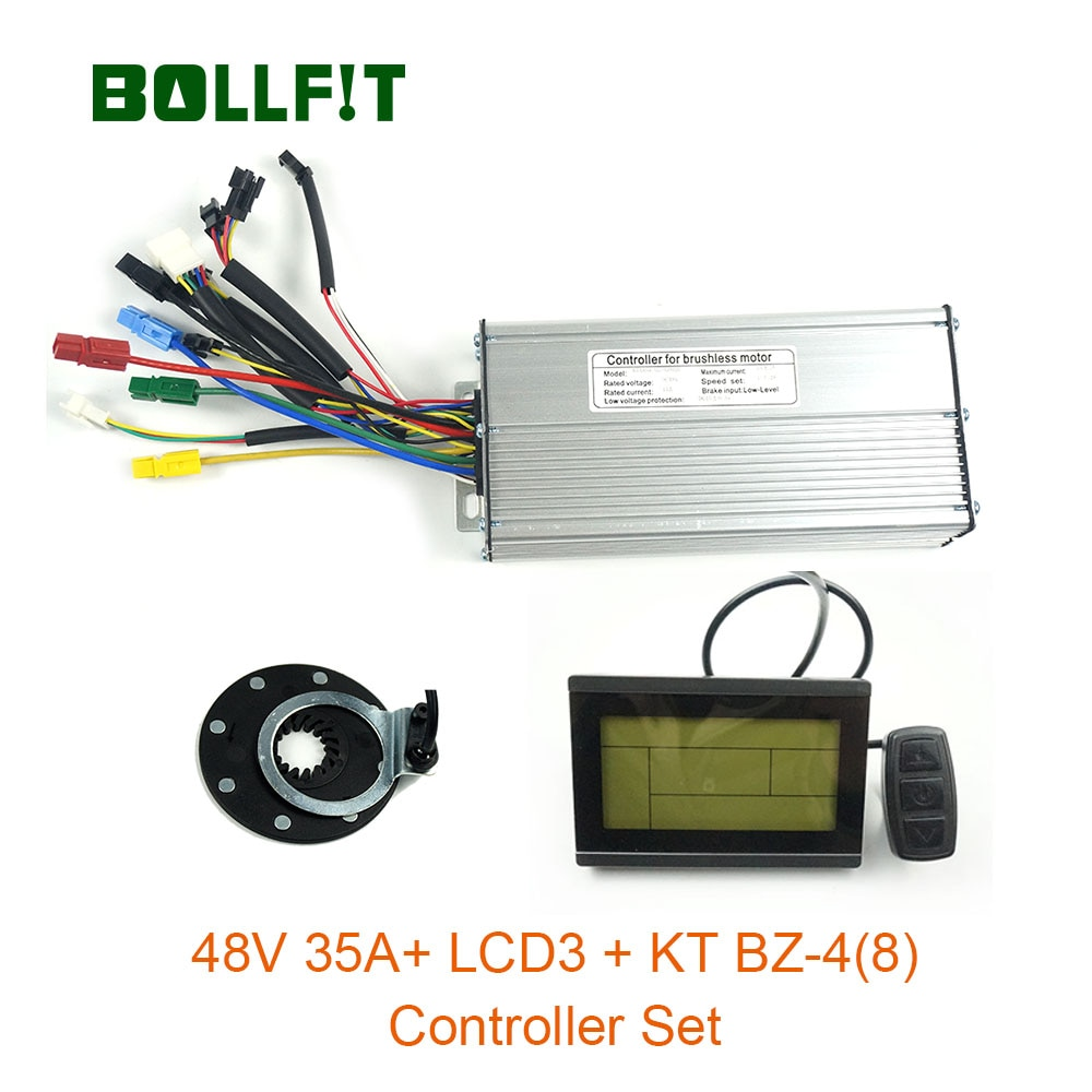 48V 35A Controller LCD3 Display Meter PAS Set E-bike Conversion Kit  Hall Sensor