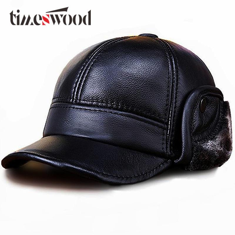 Nueva gorra de béisbol de piel de vaca auténtica de 2019, gorra de béisbol de piel de vaca de Color negro frío L XL XXL