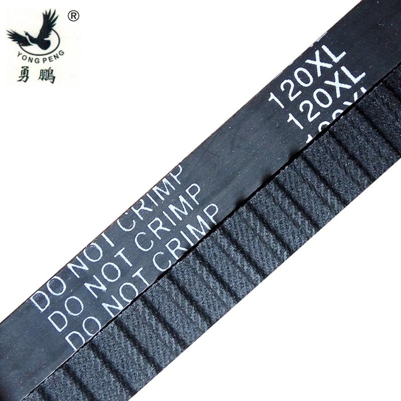 "Inch trapezoid 10pcs XL Timing belt 120 XL 031 teeth 60 width 0.31"" (8mm) length 304.8mm neoprene rubber 120XL031 free shipping"